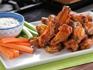 but when I do indulge I prefer bar-b-que wings over buffalo wings ...