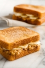 Fried Peanut Butter & Banana Sandwich
