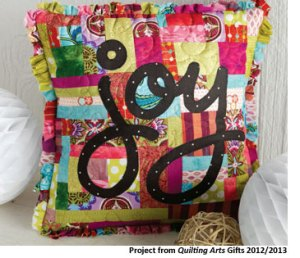 Patchwork Quilt Pillow